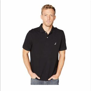 Nautica Classic Fit Polo in Brown NWT